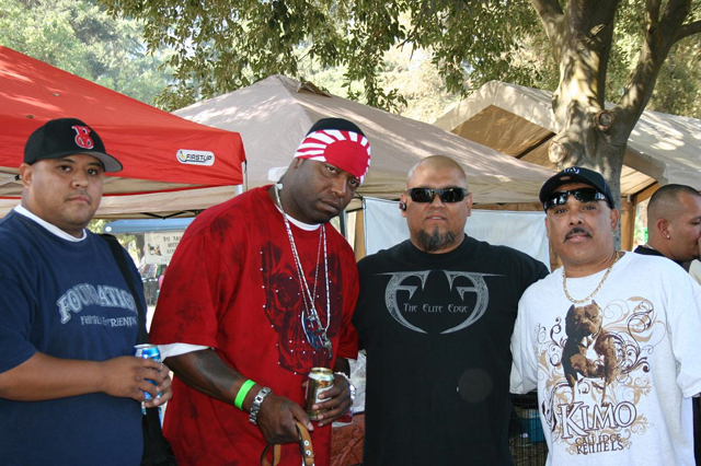 Jim, Spice 1, And Rob From Sweet V
